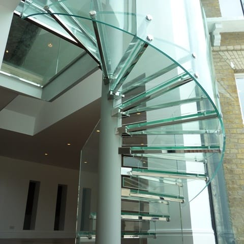 Glass Feature Stair