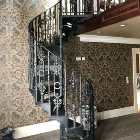 Cast Feature Staircase